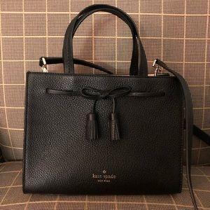 🌿4xHP🌿Kate Spade Hayes Black Leather Crossbody